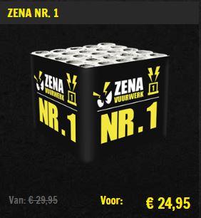 Zena vuurwerk aanbieding Zena Nr.1