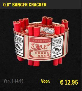 """0.6"""" Banger cracker aanbieding"""