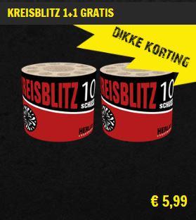 Kreisblitz 1+1 gratis aanbieding